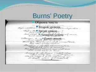 Burns' Poetry