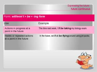 -ing form or Infinitive / prefer, would rather, had better / Infinitives of