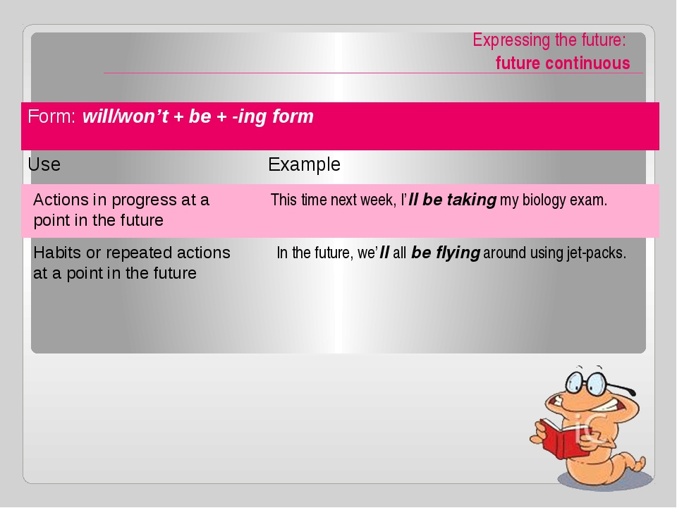 -ing form or Infinitive / prefer, would rather, had better / Infinitives of...