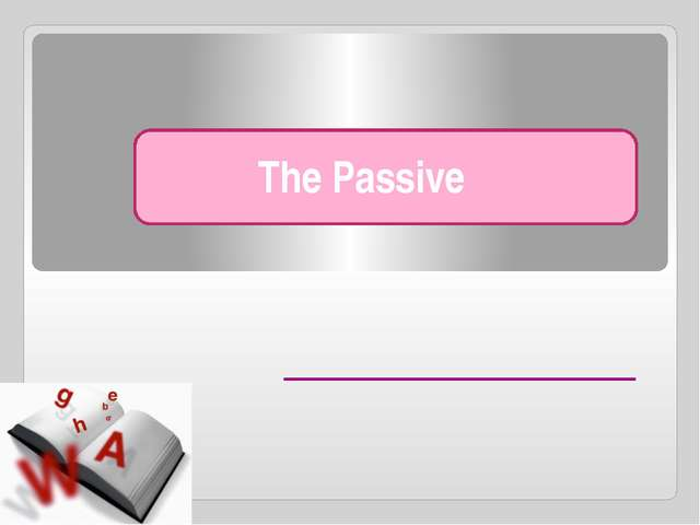 The passive (1): am/is/are + past participle Bananas are grown in tropical ar...
