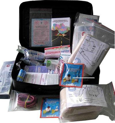 Аптечка первой медицинской помощи для междугородних автобусов (свыше 9-ти мест) - Аптечки первой медицинской помощи - Разное - К