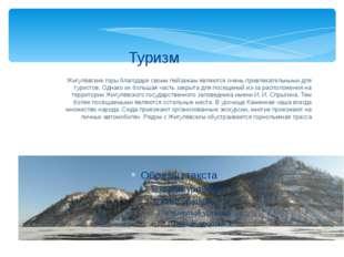 Жигулёвские горы благодаря своим пейзажам являются очень привлекательными для