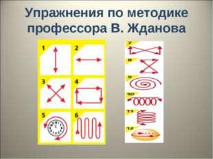 Упражнения по методике профессора В. Жданова