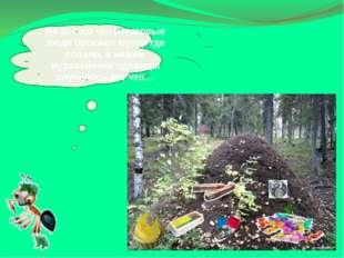 Из-за того что некоторые люди бросают мусор где попало, внашем муравейнике о