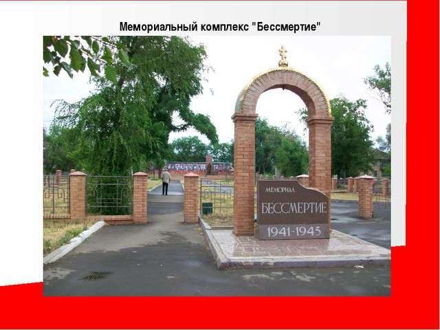 """Мемориальный комплекс """"Бессмертие"""" в посёлке Краснодон"""