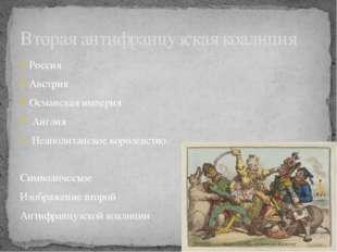 Россия Австрия Османская империя Англия Неаполитанское королевство. Символиче
