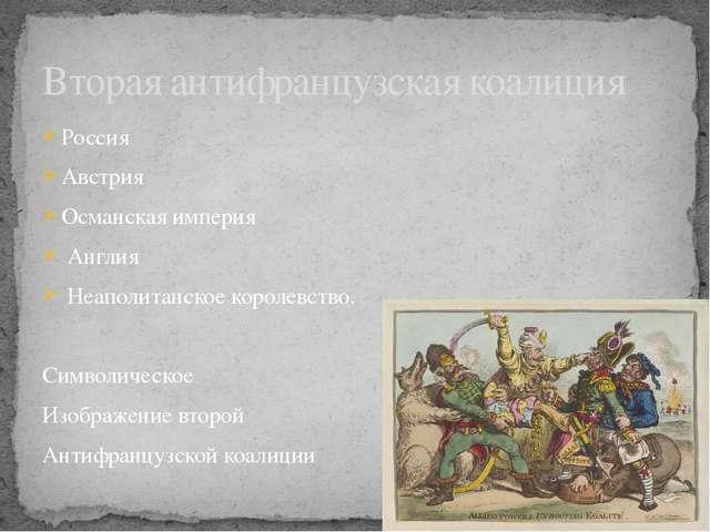 Россия Австрия Османская империя Англия Неаполитанское королевство. Символиче...