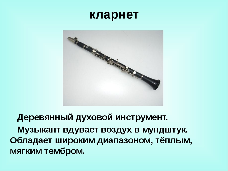 фагот Самый низкий по звучанию из деревянных духовых инструментов. В оркестре...