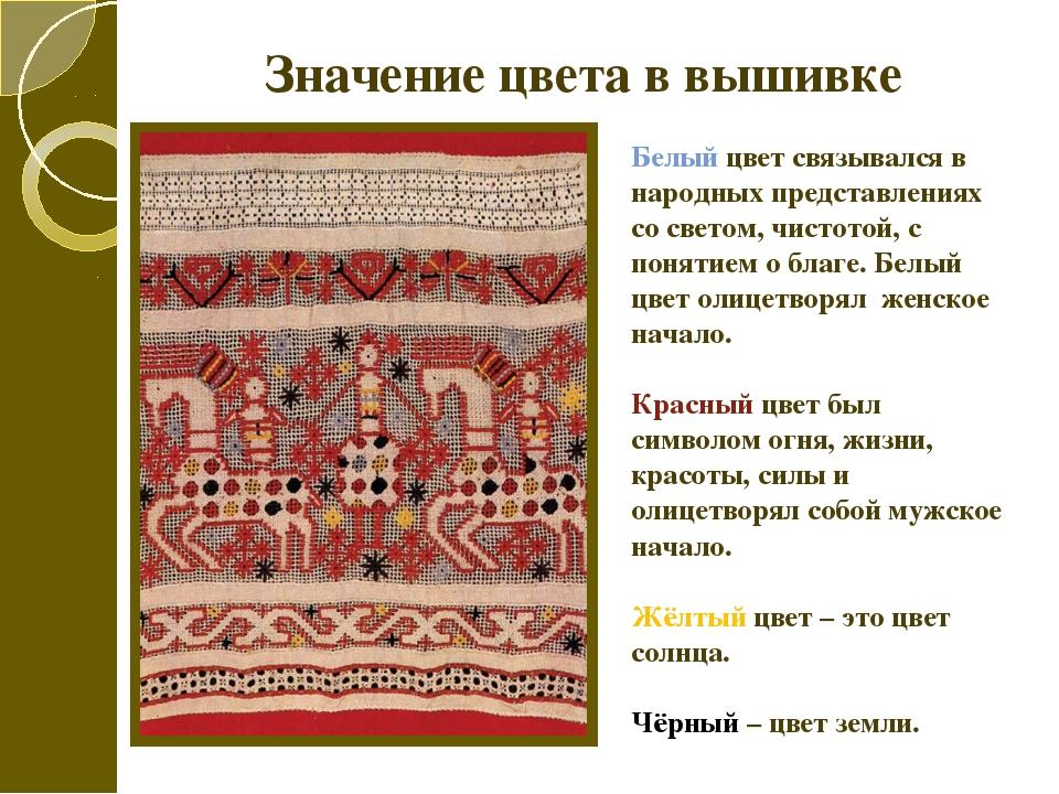 Вышивка что обозначает рисунок