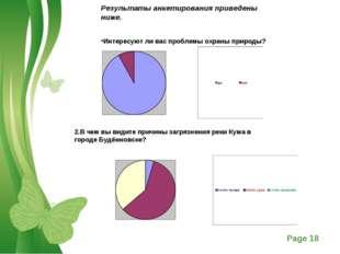 Результаты анкетирования приведены ниже. Интересуют ли вас проблемы охраны пр