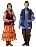 Традиционная одежда.