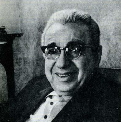 Советский композитор Матвей Блантер, автор музыки песни