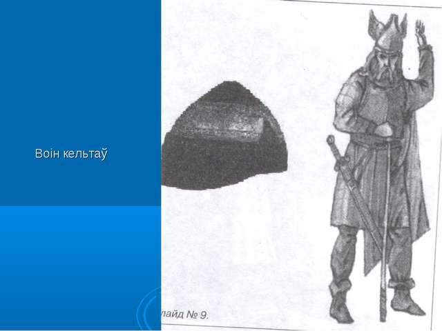 Воін кельтаў