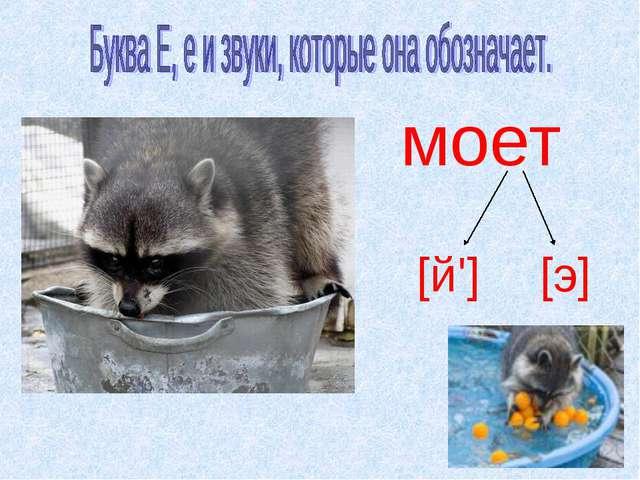 моет [й'] [э]