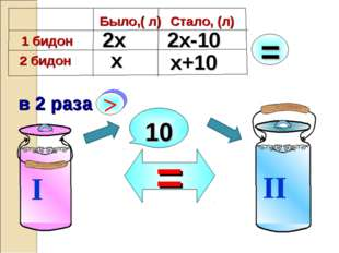 10 х 2х 2х-10 х+10