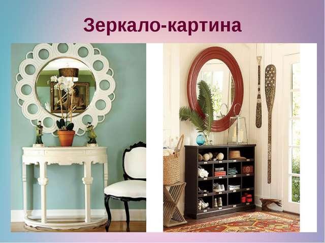 Зеркало-картина