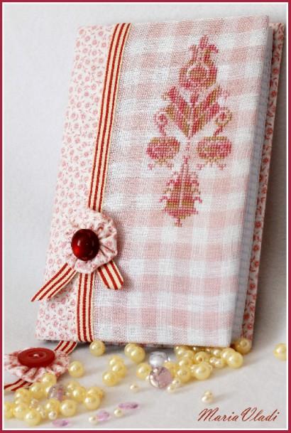 Блокноты с вышивкой крестом
