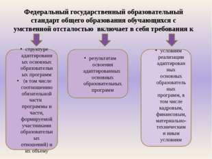 Федеральный государственный образовательный стандарт общего образования обуча