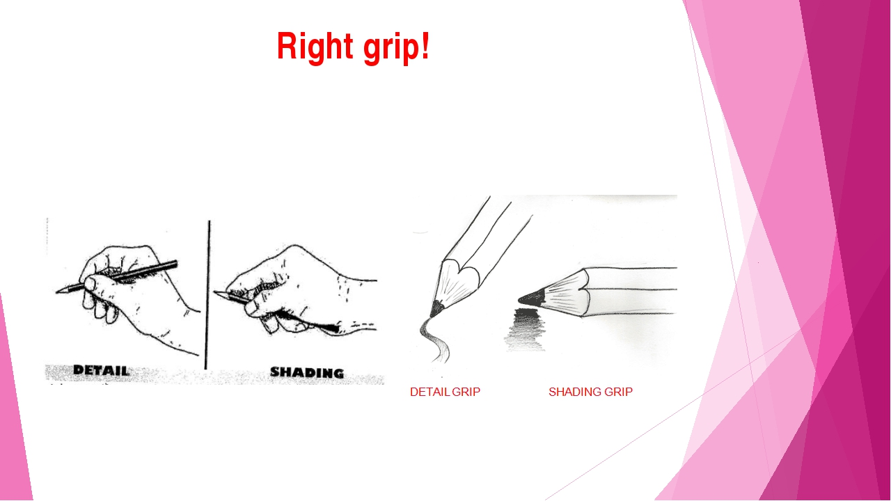 Right grip!
