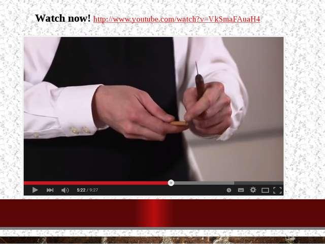 Watch now! http://www.youtube.com/watch?v=VkSmaFAuaH4