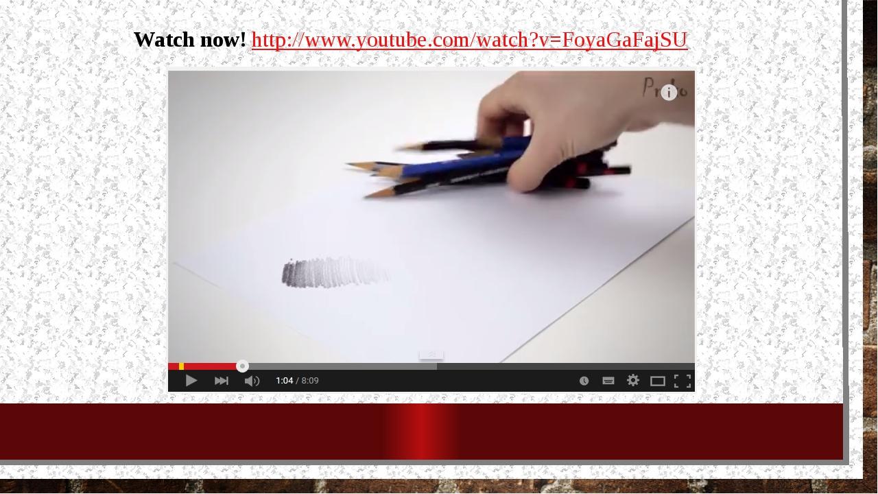 Watch now! http://www.youtube.com/watch?v=FoyaGaFajSU