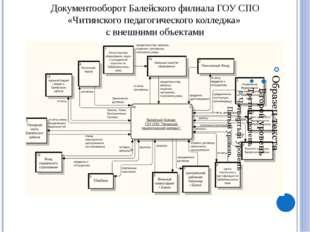 Функциональная структура Балейского филиала ГОУ СПО «Читинского педагогическ