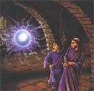 Вдруг в воздухе над головами священников и прихожан возник светящийся огненный шар. См. http://www.unknownplanet.ru/ognen_p1.shtml