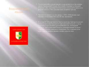 Вооружённые силы Абхазии Сухопутные войска организационно подразделяются на т
