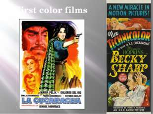 First color films
