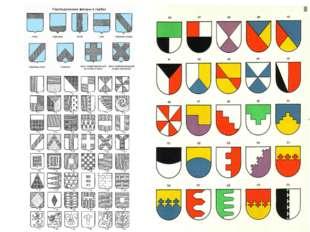 Щит – основа герба. Он имеет определенную традиционную форму и размер. Самые