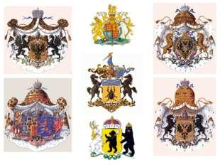 Три столетия назад, как и сегодня, родовые гербы стали употребляться в России