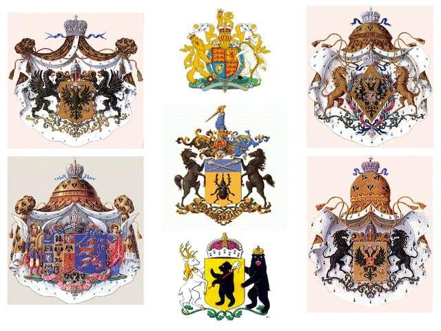 Три столетия назад, как и сегодня, родовые гербы стали употребляться в России...