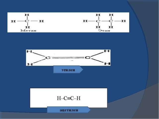 этилен ацетилен