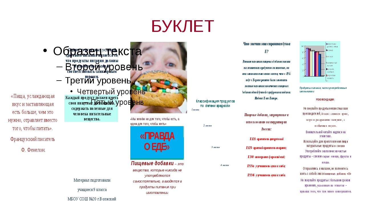 БУКЛЕТ