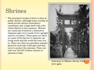 Art It is clear that the Shinto ideal of harmony with nature underlies such t