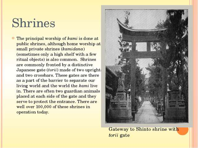 Art It is clear that the Shinto ideal of harmony with nature underlies such t...