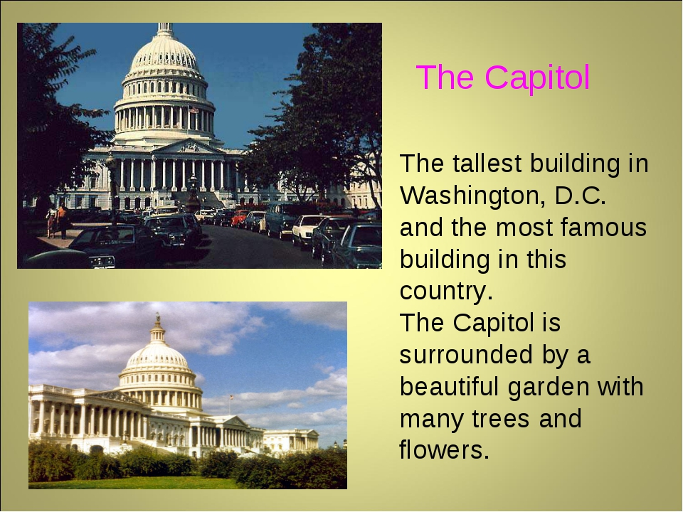 The tallest building in Washington, D.C. and the most famous building in this...