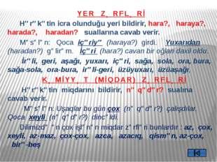 Zərf və başqa nitq hissələri kimi işlənə bilən ortaq sözlər- Omonim zərflər D