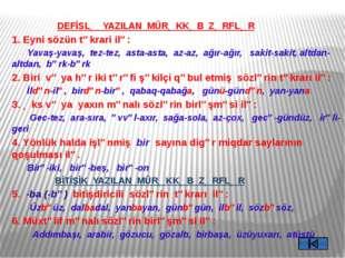 ZƏRFİN MƏNACA NÖVLƏRİ 1. Tərzi-hərəkət zərfləri 2. Zaman zərfləri 3. Yer zər