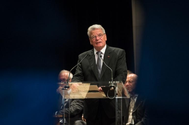 Bundespräsident Joachim Gauck hält eine Rede (Archivbild)