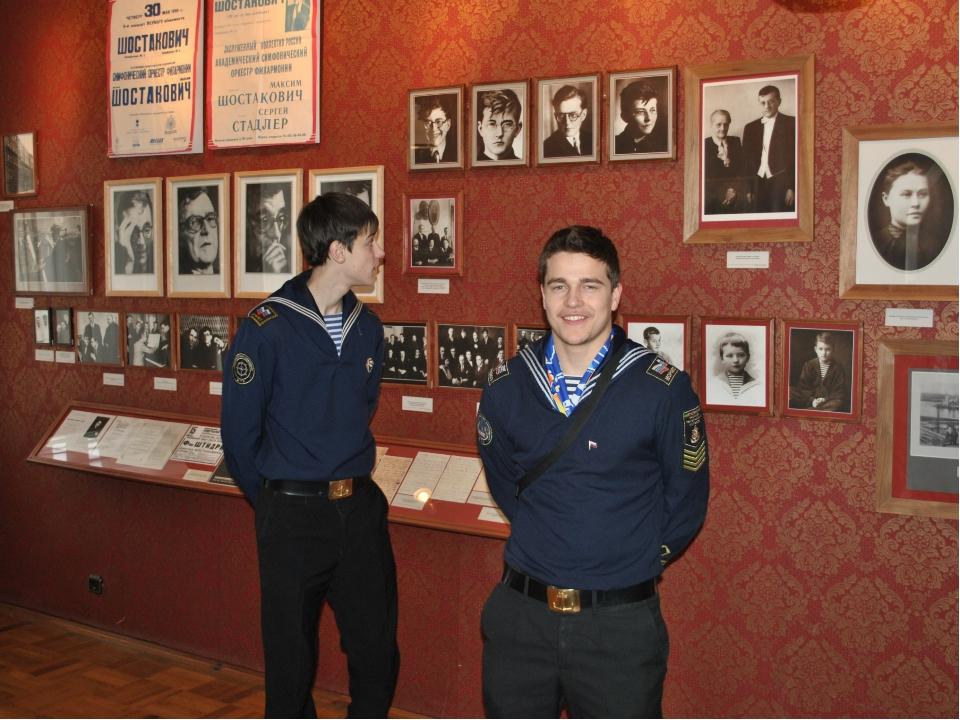 Комната-музей семьи композитора Шостаковича (единственный в Санкт-Петербурге...
