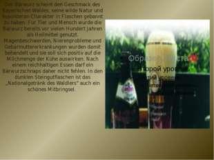 Der Bärwurz scheint den Geschmack des Bayerischen Waldes, seine wilde Natur u
