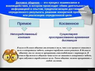 Деловое общение — это процесс взаимосвязи и взаимодействия, в котором происхо