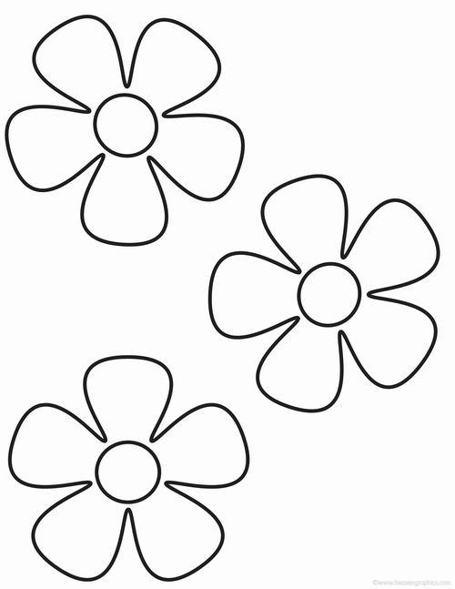 Раскраска Цветочный лист