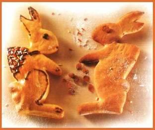 Пасхальный заяц как символ плодородия и богатства