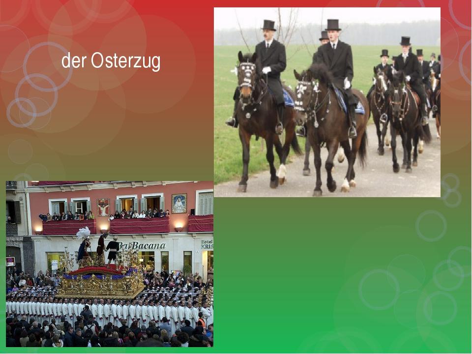 der Osterzug