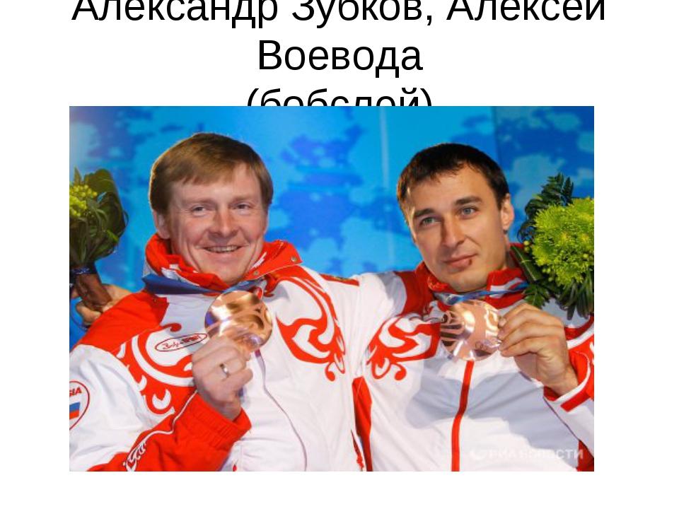 Александр Зубков, Алексей Воевода (бобслей)
