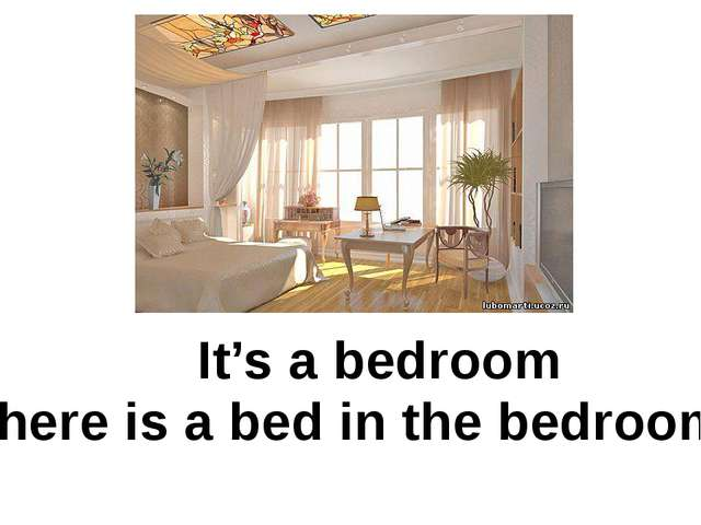 It's a bedroom There is a bed in the bedroom.