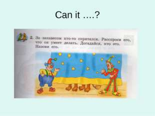 Can it ….?