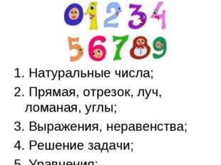 Математика – наука, Хороша и всем нужна, Без нее прожить нам трудно, Без нее